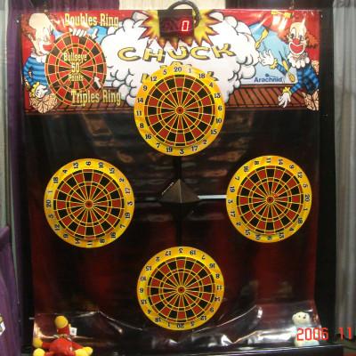 Chuck-A-Luck Darts