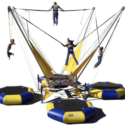 4-Way Bungee Trampoline